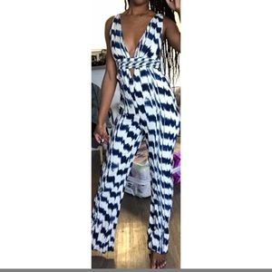 Small Forever 21 Print Jumpsuit